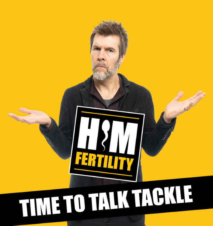 HIMFertility Time to talk tackle